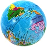 Mini Globe terrestre balle mousse anti-stress boule