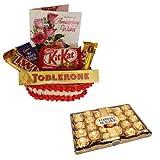 Perfect Anniversary Gift With 24 Pcs Ferrero Rocher