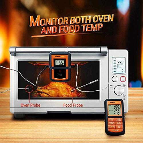 ThermoPro TP08 Funk-Grillthermometer Set - 2