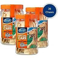 HiLife Special Care Daily Dental Dog Chews Original '3 x Jars - Total 36 Chews'