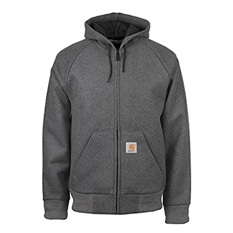 Carhartt WIP Active Wool-Lux veste d'hiver S dark grey/black