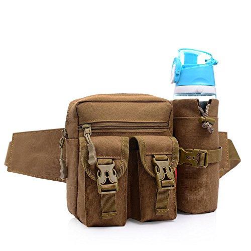 Gürteltasche, Galopar Sport Hüfttasche Wasserdicht Bauchtasche mit Kettel Tasche Hüfttasche für Damen und Herren uf Sport Laufen Camping Reise Kletter Outdoor Aktivitäten -