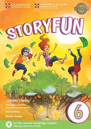 Storyfun for Starters, Movers and Flyers 6. Student's Book with online activities and Home Fun Booklet. 2nd Edition