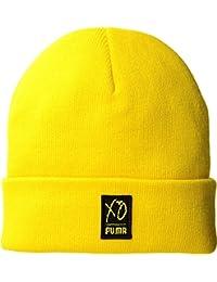 dea4d2e4 PUMA Unisex x XO by The Weeknd Beanie Cyber Yellow One Size