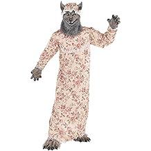 Déguisement Amscan Adulte Grand-Mère Loup le Petit Chaperon Rouge