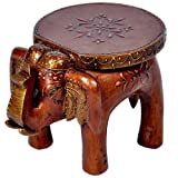 Little India Designer Wooden Elephant St...