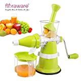 Floraware Modern Fruit and Vegetable Juicer, 250ml, Green