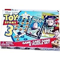 Other 3en 1Divertido Juego Toy Story 3Tarjeta de Bingo Juego, Juego & Puzzle Set