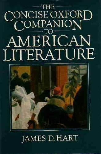 the-concise-oxford-companion-to-american-literature