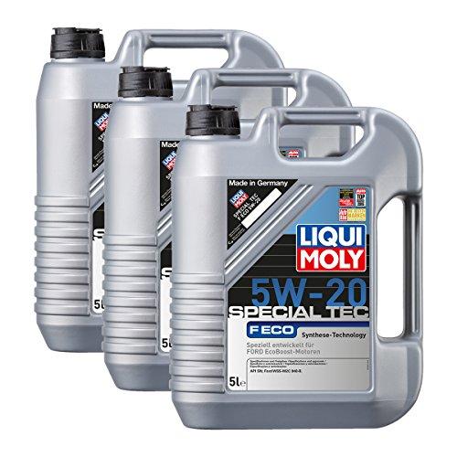 Preisvergleich Produktbild 3x LIQUI MOLY 3841 Special Tec F ECO 5W-20 Motoröl 5L