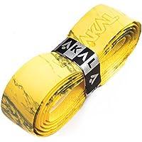 Karakal Super PU Multi Colours - Grip de repuesto para mango de raqueta Yellow/Green Talla:2 x Grips
