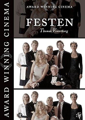 1-DVD SPEELFILM - FESTEN (SCHIJFJE IS UITSTEKEND, KARTONNEN INLAY HEEFT LINKSONDER EEN KLEINE BESCHADIGING)