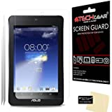 [Pack of 2] TECHGEAR® Asus MeMO Pad HD 7 / ME173X CLEAR LCD Screen Protectors With Cleaning Cloth + Application Card