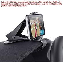 Supporto di Telefono per auto supporto auto fissaggio potente per i Smartphone di iPhone 77plus 6S 6Splus 66plus, Nokia, Wiko, Huawei, Xiaomi, HTC, Sony e altri dispositivi meno di 6,5pollici