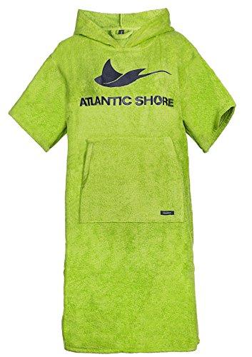 Atlantic Shore | Surf Poncho ➤ Bademantel / Umziehhilfe aus hochwertiger Baumwolle ➤ Green - Middle