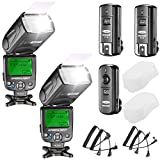 Neewer Kit di NW620 Flash Manuale Speedlite per Canon Nikon...