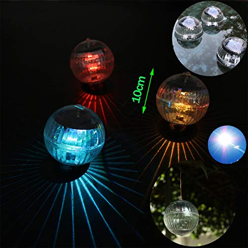 AFUT Solar Schwimmende LED Lichter Gartenteich Freibad Lampe Rotierende Farbwechsel Solar Geographic Lampe -