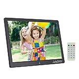 Andoer 15.6 inch digital photo frames, High Resolution 1280*800 with Remote Control (Black)