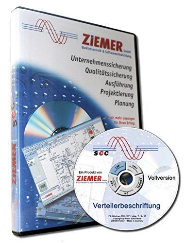 SCC-Verteilerbeschriftung Software zum Beschriftung von Verteilern (Elektro-software)