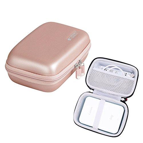 Hart Taschen Hülle für Canon Zoemini Mobiler Mini-Fotodrucker von Hermitshell (roesegold