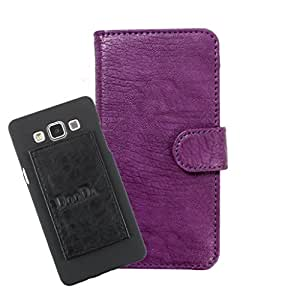 DooDa PU Leather Wallet Flip Case Cover With Card & ID Slots For Micromax Yu Yureka Plus - Back Cover Not Included Peel And Paste