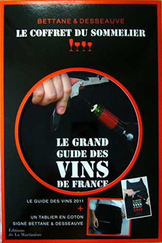 Le coffret du sommelier : Le grand guide des vins de France