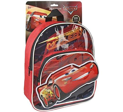 Cerdá-2100002176 Cars Bolsa Escolares, Color Azul, 30 cm 2100002176