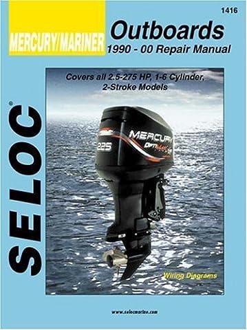 Seloc Mercury/Mariner Outboards: 1990-00 Repair Manual