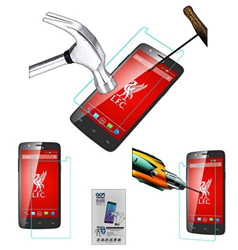 Acm Tempered Glass Screenguard for Xolo One Lfc Edition Screen Guard Scratch Protector  available at amazon for Rs.179