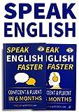 Speak English Faster 1 & 2: Speak Confident Fluent English in 6 Months: 2 Books for 1 (Speak English Faster Bundle)
