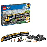LEGO 60197 City Passenger RC Train Toy, Construction Track Set for Kids