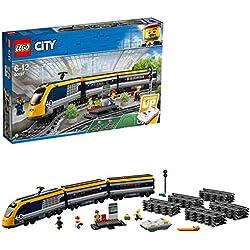 LEGO City - Le train de passagers télécommandé - 60197 - Jeu de Construction