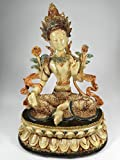sitzender Thai Buddha 13 x 17 cm Thailand China Japan Statue Figur Deko GTT 257