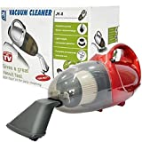 Inditradition Quick Clean 1000-Watt Powerful Hand Vacuum Cleaner | Multiple Accessories (Red)