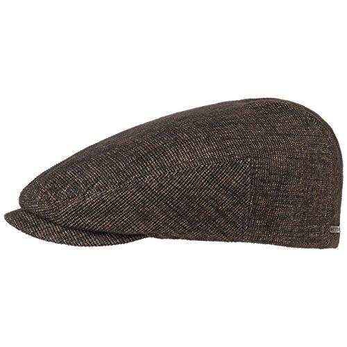 Stetson Ivy Corduroy Flatcap Schirmmütze Mütze Schiebermütze Baumwollmütze Cap Flatcap Schirmmütze (56 cm - braun) (Ivy Stetson Cap Baumwolle)