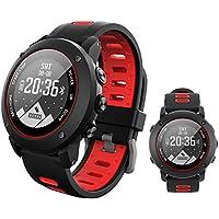 flower 205 UW90 Smart Watch GPS Sports de Plein air Étanche Smart Watch Surveillance de la fréquence Cardiaque Bluetooth 4.2 GPS Boussole IP68 Deep étanche Montre Smart Watch de Soutien