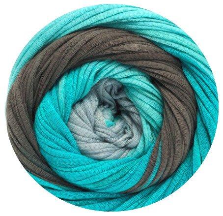 Lana Grossa Primavera freie Farbwahl Wolle Bändchengarn 1 Knäul - 1 Loop (113)
