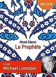 Le Prophète (cc) Audio livre 1 CD audio - Audiolib - 01/12/2010