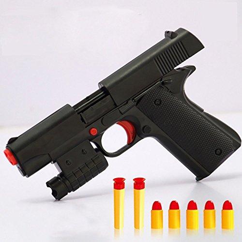 stole - Brand New Simulation Military Modell Boy Toy Pistole Gummi Kugel Pistole ()