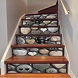 Longwei Naturstein Treppe Selbstklebende Wandbild Tapete Aufkleber Moderne Kreative Hause Dreidimensionale Schönheit Korridor Schritt Wandaufkleber kaufen Drei Bekommen Eins Frei