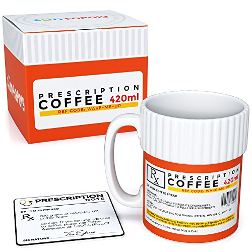 Funtopoly - Taza divertida. Taza de café con receta original