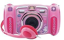 VTech 80-170855 2MP 1600 x 1200pixels Pink Compact Camera - Digital Cameras (Battery, Compact Camera, 320 x 240 Pixels, TFT, Alkaline, 0 - 40 °C)