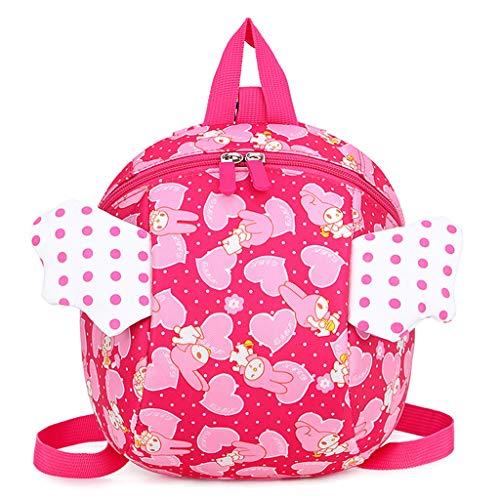 Ninbo Sicherheitsgurt Rucksack Kids Anti-verlorene Cartoon Angel Wings Schultasche für Infant Baby Toddler (Angel Wing Rucksack)