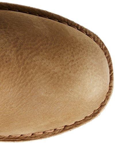 Shabbies Amsterdam Shabbies ladies 16cm booty stitchdown flat 1 cm matching norfolk sole last Alissa, Bottes femme Gris - Grau (Smog 302)