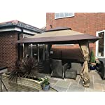 Got it Covered Huge 4m x 4m Stunning Gazebo Waterproof Canoy With Carry Case On Wheels 4