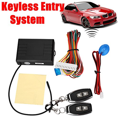 Wireless-keyless-entry-system (Sedeta® Auto Cars Remote Control Central Door Locks Locking Security Keyless Entry Kit)