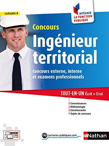 Concours ingénieur territorial - Catégorie A
