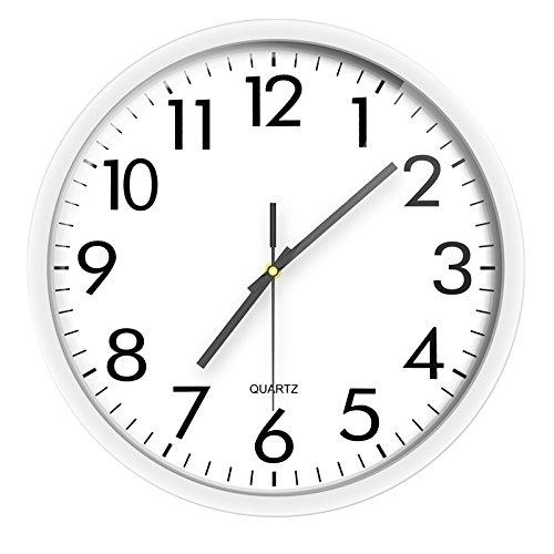 Vinteen orologio da parete orologio da salotto rotondo forma orologio da tasca orologio creatività semplice famiglia moderna orologio da polso silenzioso elettronico orologio da polso e orologi horologe ( color : silver )