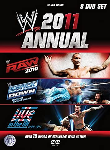 Wwe 2011 Annual - Best Of Raw / Best Of Smackdown / Live In The Uk [DVD]