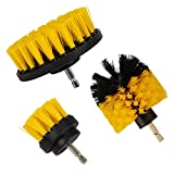 Drill Bürste, Teppich Bohraufsatz Schrubben Powered Reinigung Change Schaft, PP, eingezogen 1/10,2 cm Anschluss Schaft Manufacturer: sleepsoon